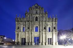 大三巴 001Cold (A.S. Kevin N.V.M.M. Chung) Tags: macau church spaulo saopaulo architecture building oldbuilding night city