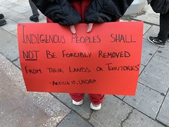International Day of Solidarity with Wet'suwet'en - Edmonton (livingsanctuary) Tags: edmonton yeg wetsuweten unistoten landback yegactivist yegphotographer photojournalism indigenous