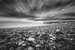 BW (R*Wozniak) Tags: longexposure lakemichigan landscape blackwhite bw blackandwhite black clouds