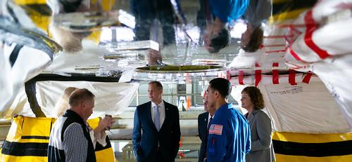 NASA Administrator at Stennis Space Center (NHQ202002100021)