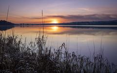 Photo of Sunset, Barr Loch, Lochwinnoch, Renfrewshire, Scotland, UK