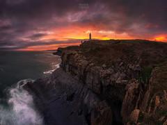 Recurring (Ramón M. Covelo) Tags: lighthouse faro cabo mayor santander sunrise pano amanecer cantabria