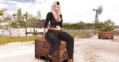 ★★ № 392 ★★ (Tit Ange) Tags: avatar secondlife sl fashion style moda mode girl fille blogger blog mesh bento virtual virtuel 3d event cosmopolitan adorsy