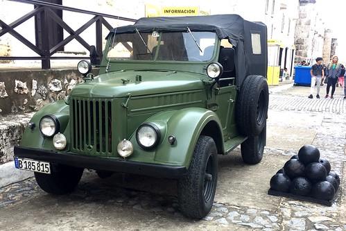GAZ-69 - La Habana, Cuba (2020)