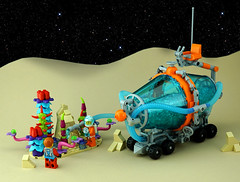 Febrovery 2020 Day 10 (TFDesigns!) Tags: lego space rover febrovery spaceplants kepler van allen