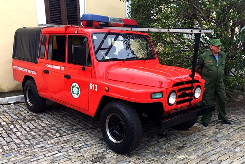 BAW Beijing Jeep BJ Bomberos - La Habana, Cuba (2020)