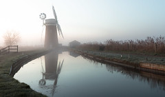 Horsey Mill, Norfolk (Patricia Wilden) Tags: thurne landscape sunrise horsey eos70d wideanglelens earlymorning pumpingstation mills canon 1022mm norfolk 6feb2020