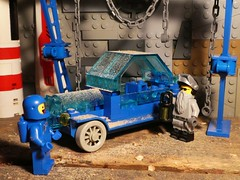 Barn Find - Febrovery 2020-11 (captain_j03) Tags: toy spielzeug 365toyproject lego minifigure minifig moc car auto febrovery rover space