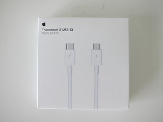 Apple Thunderbolt 3 (USB-C) Cable (0.8m)