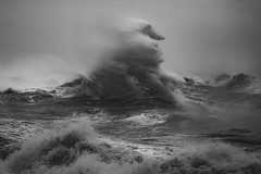 The Sea Witch (Andrew G Robertson) Tags: storm ciara wave newhaven east sussex