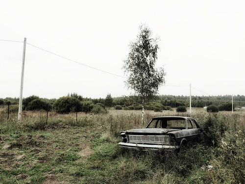 Somewhere in Russia. Alone and terribly ©  Sergei F