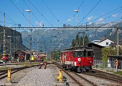 De110 022 (maurizio messa) Tags: nikond90 bern switzerland svizzera schmalspurbahn zb zentralbahn brünig de110 lis alps alpi mau bahn ferrovia treni trains railway railroad