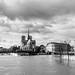 Inondations autour de Notre Dame (avec sa flèche)