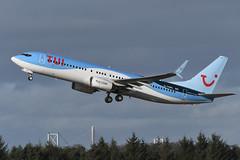 G-TAWL Boeing B737-8K5 EGPH 08-02-20 (MarkP51) Tags: gtawl boeing b7378k5 b737 tuiairways by tom airport edi egph scotland airliner aircraft plane image markp51 nikon d500 nikonafp70300fx sunshine sunny airplane