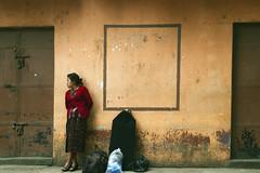 Waiting (klauslang99) Tags: klauslang streetphotography person waiting antigua guatemala