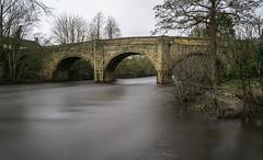 Baslow Bridge (l4ts) Tags: landscape derbyshire peakdistrict darkpeak baslow baslowbridge riverderwent longexposure 10stopfilter