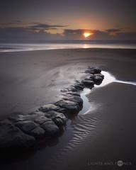 18 @ Rocky Shores (Lights And Tones) Tags: seascape glamorgan sponges sunset wales dunraven rocks shores coast coastline sony a7iii voigtlander 21mm colorskopar