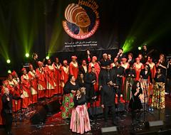 Regional Golden Singers at the Tel Aviv Music Center Gala perfor