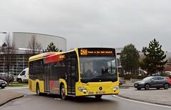 563252 b 420 Prolongé en 166a (limité Rochefort) (brossel 8260) Tags: belgique bus tec prives namur penning