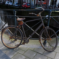 Amsterdam NL (triou eric) Tags: bicycle wreck canal canals amsterdam holland