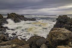 Yaquina Sea Foam (cdcguard) Tags: yaquinahead newport oregon waves surfsea ocean coast coastal coastline foam clouds moody