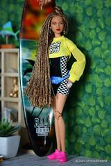 giovanna (photos4dreams) Tags: barbie mattel doll toy diorama photos4dreams p4d photos4dreamz barbies girl play fashion fashionistas outfit kleider mode puppenstube tabletopphotography aa beauties beautiful girls women ladies damen weiblich female ebay keyla afroamerican darkskin africanamerican bmr1959 collectors