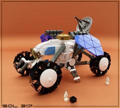 SOL 317 - Mobile Explorer (Space Glove) Tags: lego mecabricks ldd rover febrovery
