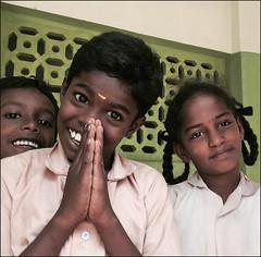 Écoliers de Kudiyanpatti (Tamil Nadu, Inde)