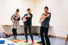 Yoga with Baby (MCPLIndiana) Tags: yoga childrensprogramroom program 2020 children yogawithbaby