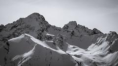 Alpine Austria (Rene Wieland) Tags: austria alps bnw blackandwhite berge mountains styria steiermark snow winter nature natur skiing view stunning schnee landscape landschaft