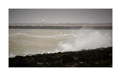 Ciara II (Rob Schop) Tags: ciara lighthouse brouwersdam storm sea seascape tele dof composition 169 waves wind goereeoverflakkee dusk sonyfe70200f4 sonya6000 nofilters handheld mood