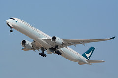 B-LXK - Airbus A350-1041 - Cathay Pacific (FelixTch) Tags: airbus a350 a3501000 llbg israel ben gurion spotting tamron 600mm cathay pacific tel aviv tlv