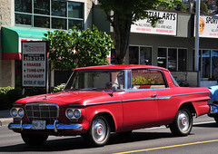 Studebaker Lark Daytona (D70) Tags: 2door hardtop coupe 1963 hatsoffday parade 2010 showandshine vehicles hats off day show shine capitolhill burnaby britishcolumbia canada