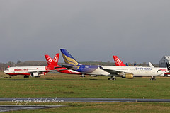 A330 2-PAOH + 3 x ATLASGLOBAL (shanairpic) Tags: jetairliner passengerjet a330 airbusa330 shannon klm atlasglobal 2paoh