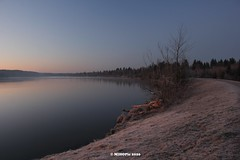 Morgenstimmung am See (holdinghausenm) Tags: morgen morgenstimmung mornings moringvibes mood moody light lake see lac lago nature landschaft landscape paysage paesaggio outside coth coth5 photopassion cold freezy frozen icy winter inverno hiver