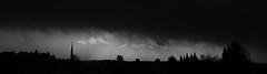 Orkan Sabine (greenoid) Tags: sabine orkan sturm sturmtief wind wolken graupel schauer storm sw bw panorama buchholz