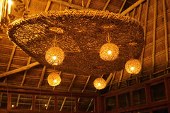 ceiling decor at La Zebra (Olive Witch) Tags: tulum night arch place pov abeerhoque restaurant geo melbday light mexico indoors january ceiling architecture jan20 2020