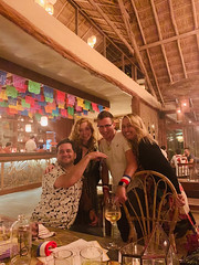 Rob, Renee, Jeff, and Drea (Olive Witch) Tags: tulum night january place pov abeerhoque restaurant geo indoors group 2020 melbday jan20 mexico