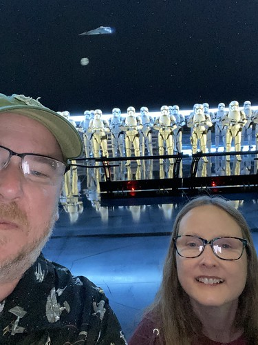The time Allison and I were captured by the First Order