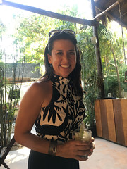 Melissa at Taco Tuesdays (Olive Witch) Tags: mexico january jan20 fem abeerhoque restaurant geo day outdoors place melbday tulum 2020