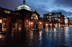 Flooded (Tobias Scharnberg) Tags: fischauktionshalle sabine storm sturmflut hamburg hamburgerhafen