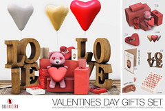 NEW! Valentines Day Gifts Set @ EQUAL10 (Bhad Craven 'Bad Unicorn') Tags: vday 14th valentines 14 feb february 2020 love teddy hearts card cards candy lolly lollypop red 3d art artist gfx graphic design bhadcraven badunicorn unicorns unicorn bad bhad craven secondlife second life sl mesh meshed decor decorative decors home garden gardens homes houses builds buildings cool dope baloons baloon shaped pink