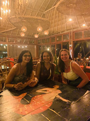 with Sheba and Cynthia (Olive Witch) Tags: tulum night january group place pov abeerhoque restaurant geo fem 2020 jan20 melbday indoors mexico
