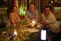 Alyssa, Alex, and Rob (Olive Witch) Tags: mexico night january jan20 pov abeerhoque restaurant geo indoors group place melbday tulum 2020