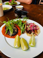 tacos! (photo by Adama) (Olive Witch) Tags: tulum january food place abeerhoque restaurant geo outdoors day 2020 melbday jan20 mexico