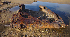 The Titchwell tanks revisited (Whipper_snapper) Tags: titchwell rspb norfolk covenanter tank ww2 wreck rust metal steel england uk gb pentax pentaxk5