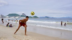 Happy boys (alobos life) Tags: happy players ball copacabana nice beautiful cute brazilian boy garoto rio de janeiro brasil brazil beach playa mar sea