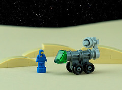 Febrovery 2020 Day 11 (TFDesigns!) Tags: micro rover lego space classic febrovery spaceman microscale
