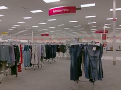 Maternity (l_dawg2000) Tags: 2019liquidation closed cordova departmentstore discountstore early2000s liquidation memphis retail shelbycounty supertarget target tennessee tn wavyneon unitedstates