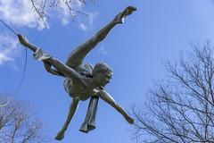 Suspension_DSC0132 (GmanViz) Tags: gmanviz color sonya6000 art sculpture kinetic schillerpark germanvillage columbus ohio jerzykędziora